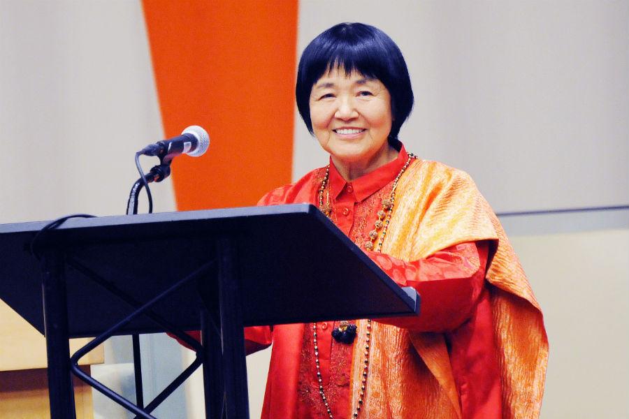 ヨガ・瞑想の第一人者「ヨグマタ相川圭子」の高知講演会