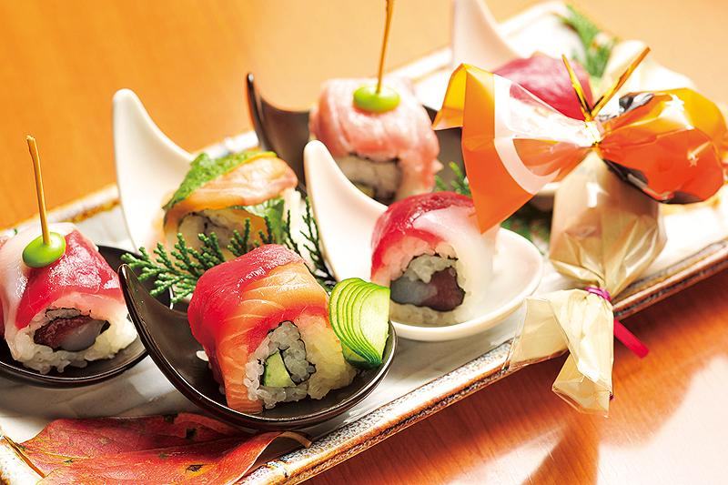 創作寿司(税別980円~)※写真は二人前