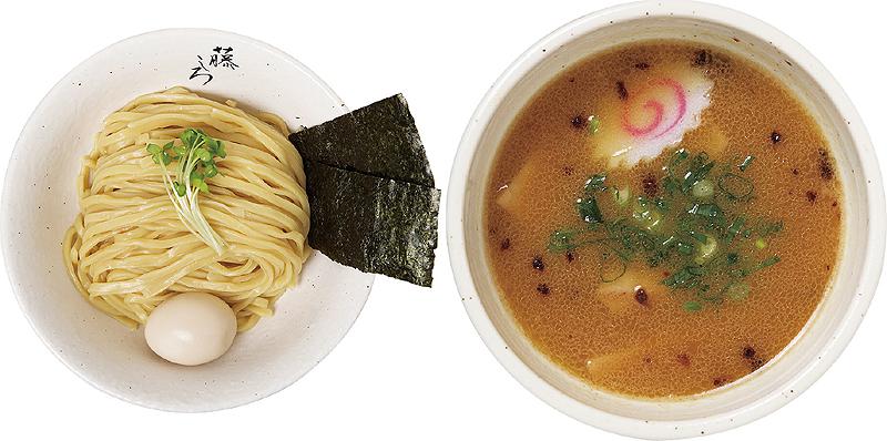 鶏白湯味玉つけ麺 900円
