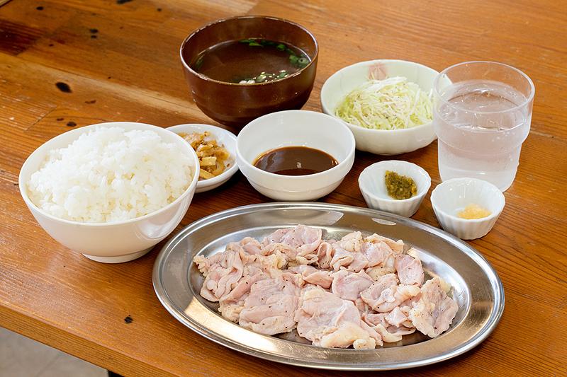 もみ塩セット鶏ハラミ